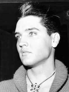 Elvis Presley in Paris, 1959.
