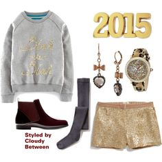 Tween Fashion 2015 Grey and gold tween Fashion