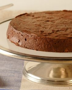 Silky Chocolate Cake - Martha Stewart Recipes