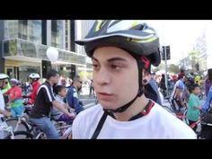 Na inauguração oficial da Ciclovia da Avenida Paulista, no dia 28 de junho, o Canal Mova-se encontrou o ciclista Henrique Espírito Santo que falou sobre a importância da Ciclovia da Paulista para a luta de menos morte no trânsito, do movimento Bicicletada /Massa Crítica-SP.