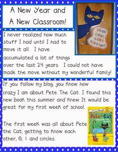 Golden Gang Kindergarten: New Classroom and A New Year