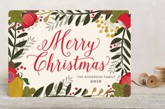 Very Berry Floral by Susan Moyal at minted.com