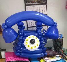 TELEPHONE BALLOON ART