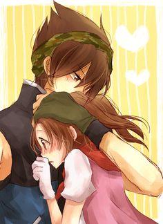 Kurt & farmer girl | Harvest Moon