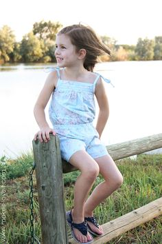 DIY Clothes Refashion : DIY Little Girl Romper