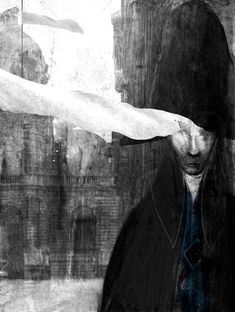 "Gabriel Pacheco ilustration for ""Les Miserables"" de Victor Hugo. Collage Illustration, Graphic Design Illustration, Graphic Art, Miguel Angel, Les Miserables, Gabriel Pacheco, Contemporary Art Artists, Victor Hugo, Illustrations And Posters"