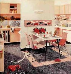 1950's kitchens and some bathrooms, too - Retro Renovation