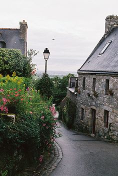 Locronan in Brittany beautiful village ...traveling with Ralphy ,Annick ....kenavo