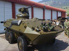 Exército do Chile quer mais Piranhas 6×6 e 8×8.