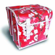 Basil Doppeltasche Blossom rot 35L: Amazon.de: Sport & Freizeit $37