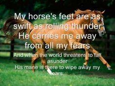 My horse's feet