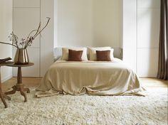 Lavish bedroom, Principal apartment in Barcelona. Styling: Stil Interiors #barcelonapartment