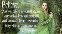 Believe ...