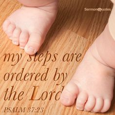 The steps of a good man are ordered by the Lord : and he delighteth in his way. (Psalms 37:23 KJV)