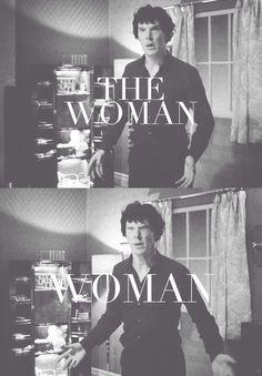 #Sherlock #thewoman
