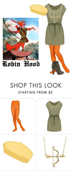 """""""Robin Hood"""" by michdrpenguin ❤ liked on Polyvore featuring Disney and Topshop"""