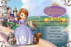 Sophia the first princess Custom by digitaldesignsbyme on Etsy, $10.00