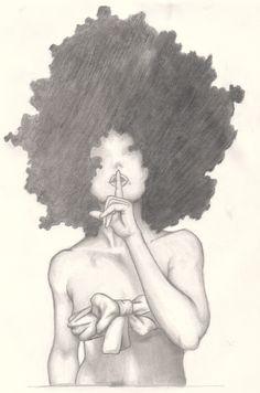 Afro Girl 2