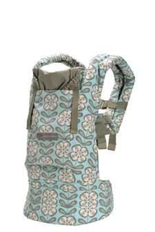 Friend swears by this carrier. Just needs an infant insert, and it is good to go (well, and a baby too.)