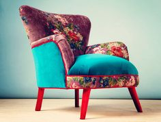 Items similar to Gobelin Armchair - plymouth pink on Etsy