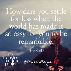 Seth Godin - Inspirational Quote