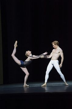 #Bloch All Star Sarah Lamb and Steven McRae in The Human Seasons © ROH / Bill Cooper, 2013