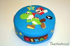 Super Mario Taart  *Super Mario Cake