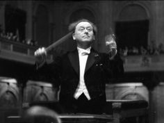 alfred-eisenstaedt, musical-conductor-dr-willem-mengelberg-conducting-the-concertgebouw-philharmonic Concert Hall, Conductors, Rembrandt, Opera House, Places To Visit, Houses, Musica, Classic, Opera