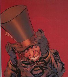 The Mad Hatter (Jervis Tetch) Cartoon Books, Comic Books Art, Comic Art, Book Art, Arkham City, Arkham Asylum, Mad Hatter Batman, Gotham, Alice In Wonderland Hatter