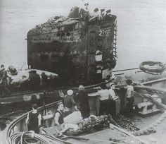 Surrendered on 9 May 1945 at Stavanger, Norway (Waller & Niestl�, 2010).Taken to Loch Ryan, Scotland on 30 June, 1945 for Operation Deadlight. Operation Deadlight (post-war Allied operation, info)Scuttled on 27 November, 1945 in position 56.10N, 10.05W.