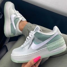Nike Air Force 1 brand new colorway, they are a dream be quick girls! Dr Shoes, Hype Shoes, Me Too Shoes, Jordan Shoes Girls, Girls Shoes, Shoes Women, Women Sandals, Cute Sneakers, Shoes Sneakers