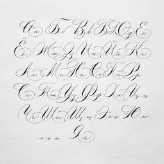 Best tattoo fonts cursive alphabet style ideas diy Best Tattoo Best Tattoo for women Tattoo Fonts Alphabet, Caligraphy Alphabet, Hand Lettering Alphabet, Calligraphy Letters, Penmanship, Graffiti Lettering Fonts, Tattoo Lettering Fonts, Creative Lettering, Best Tattoo Fonts