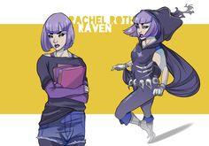 Oskar Vega's Teen Titans character design.