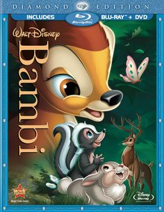 "Experience the influence Tyrus Wong had on this Disney classic with the new blu-ray edition of ""Bambi"""