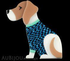 Erstwilder Dog Pin Brooch Beatrice Beagle