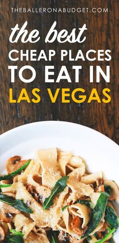 Planning a trip to Sin City but need to save money? Skip the expensive steakhouses and buffets and check out the best cheap places to eat in Las Vegas. Las Vegas Eats, Las Vegas Food, Las Vegas Restaurants, Las Vegas Attractions, Best Food In Vegas, Best Buffets In Vegas, Cheap Buffet, Nevada, Las Vegas Vacation
