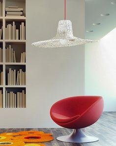 Lampa, oświetlenie, made in poland, polski design, lampa z gazet, recykling, ekologiczna lampa. Zobacz więcej na: https://www.homify.pl/katalogi-inspiracji/17883/oryginalne-i-ciekawe-pomysly-we-wnetrzach