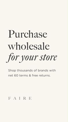 Business Branding, Business Marketing, Buying Wholesale, Wholesale Stores, Small Business Plan, Mobile Boutique, How To Get Money, Business Fashion, Sell On Etsy