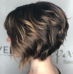 Short Choppy Bob For Wavy Hair