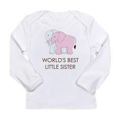 WORLD BEST LITTLE SISTER Long Sleeve T-Shirt