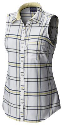 Columbia Super Harborside Woven Sleeveless Shirt for Ladies - Collegiate Navy - XS