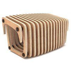 Levigo silla-CNC CUT paramétrico silla & lounge | Etsy