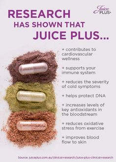 The best way to reduce your risk of disease is to eat healthy. The right fuel in your body makes it run better. Fruits and vegetables are two key food groups known to contribute to better health. Juice Plus Berry Capsules, Juice Plus Results, Juice Plus Company, Juice Plus Shakes, Juice Plus+, Juicy Juice, Juice Plus Complete, Different Fruits And Vegetables, Juicing For Health
