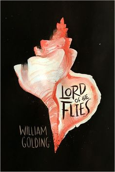 """Book cover design - """"Lord of the Flies"""" by William Golding Best Book Covers, Beautiful Book Covers, Book Cover Art, Book Art, Best Book Cover Design, William Golding Books, Design Art Nouveau, Classic Library, Design Poster"""