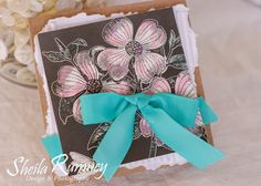 Spring Bouquet Card using Really Reasonable Ribbon and Canvas Corp Brands products www.sheilarumney.com