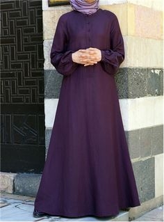 SHUKR International | Classic Flared Sleeve Dress