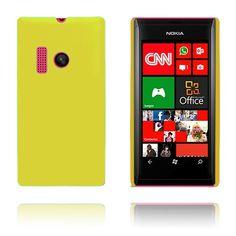 Hard Shell (Gul) Nokia Lumia 505 Deksel