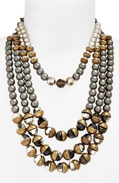 Free shipping and returns on Berry Multistrand Beaded Necklace at Nordstrom.com. A neutral palette and a mix of luminous, faceted and burnished beads make this multistrand necklace easy to pair with everyday basics or evening wear.