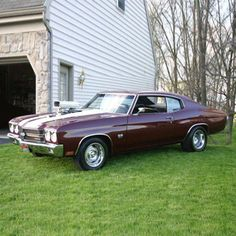 """@hhclassicparts's photo: """"Do you use your #Chevy #Chevelle for work?"""""""