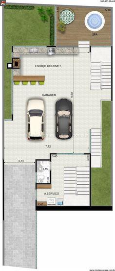 Pinterest: @claudiagabg | Casa 4 pisos 3 cuartos 1 estudio jacuzzi y Apartamento en alquiler con 3 cuartos / planta 2